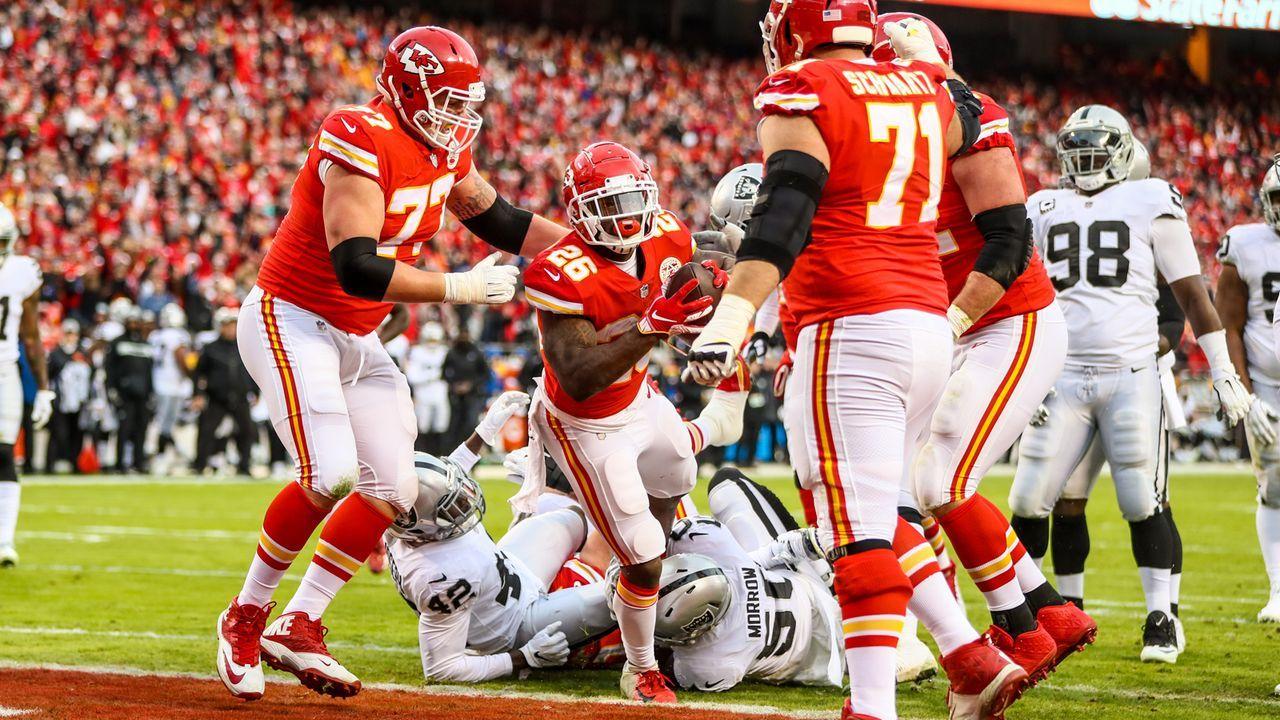 Gewinner: Laufspiel der Chiefs - Bildquelle: 2018 Getty Images