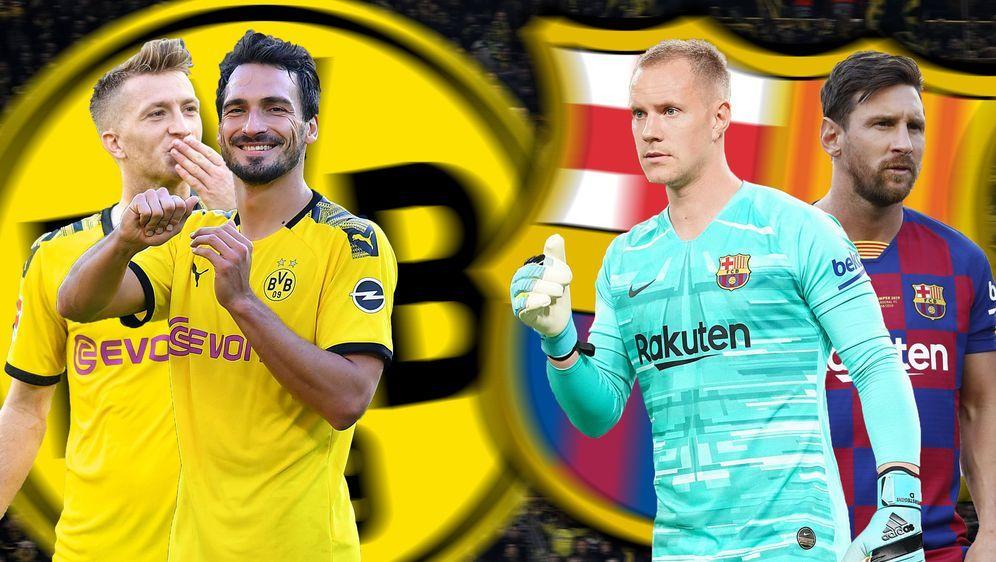 Zum Autakt der Champions League empfängt Borussia Dortmund den spanischen Me... - Bildquelle: imago