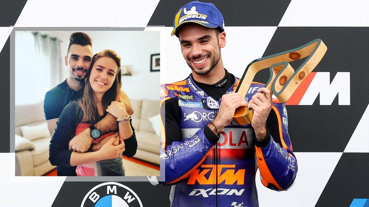 MotoGP-Profi Oliveira heiratet seine Stiefschwester - Bildquelle: Imago/Instagram:migueloliveira44