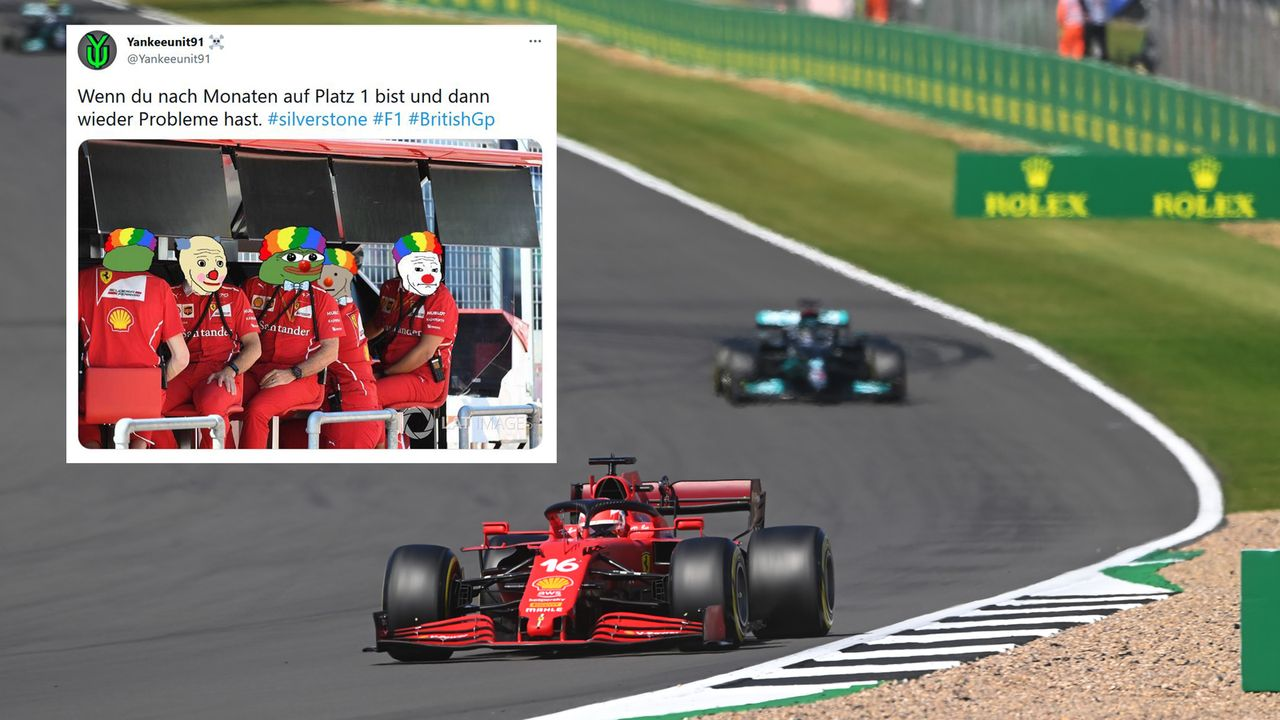 Plötzlich ein Ferrari vorn - Bildquelle: 2021 Getty Images