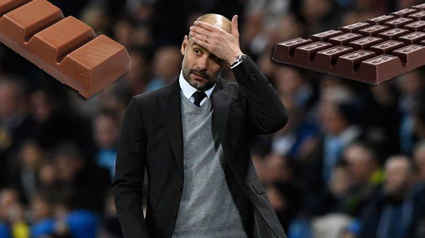 Pep Guardiola: Süßigkeiten  - Bildquelle: getty/imago