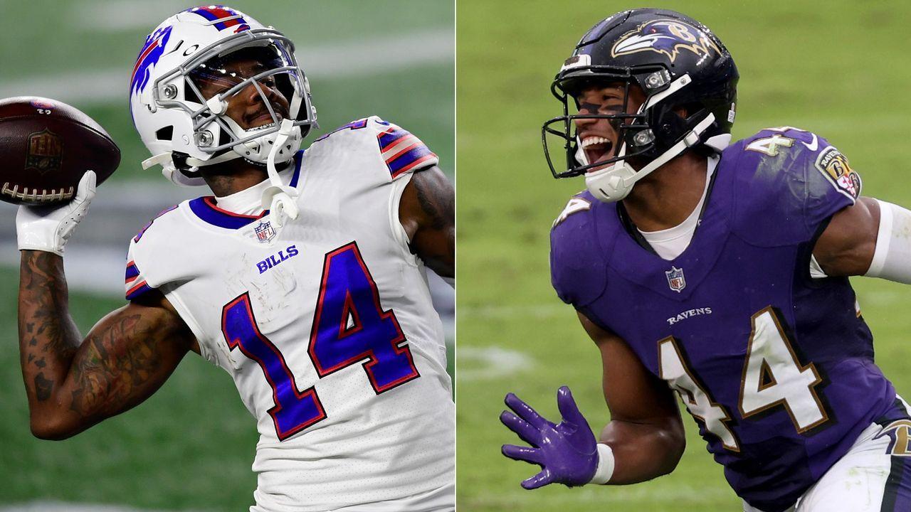 Ravens at Bills: Stefon Diggs vs. Marlon Humphrey
