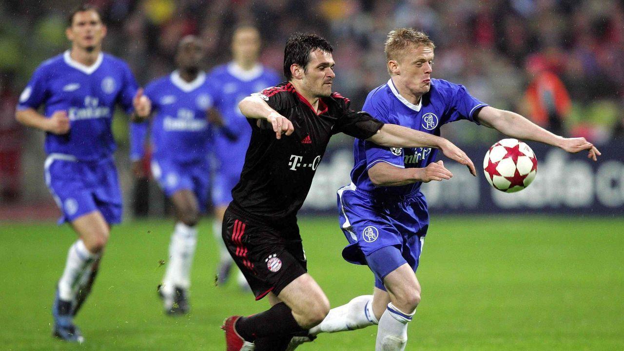 2004/2005: FC Chelsea gegen FC Bayern (Viertelfinale)  - Bildquelle: imago