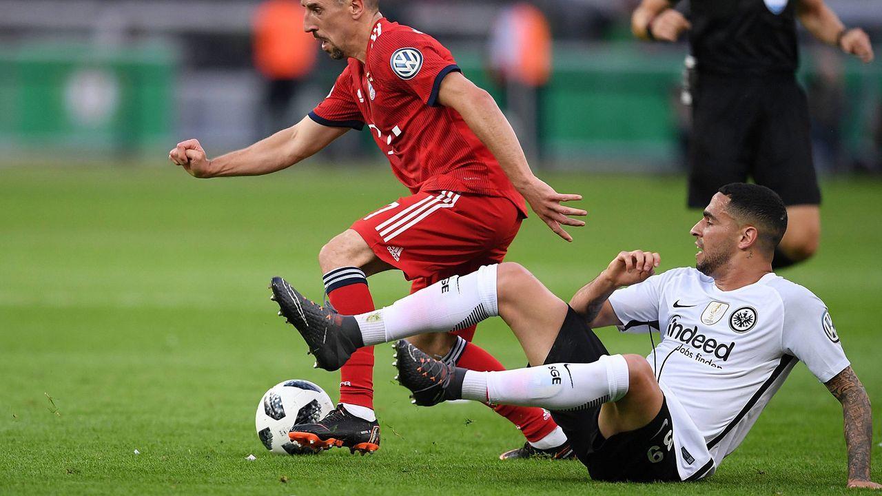 FC Bayern vs. Eintracht Frankfurt: Einzelkritik zum DFB ...