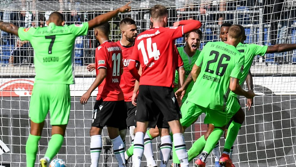 Sandhausen durfte sich über einen Sieg gegen Hannover freuen - Bildquelle: Imago