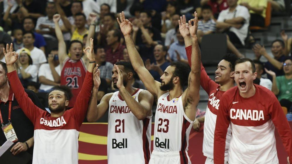 Kanada feiert klaren Sieg gegen Jordanien - Bildquelle: AFPSIDYE AUNG THU