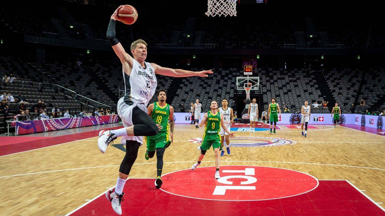 Deutschland (zwei NBA-Profis) - Bildquelle: imago images/camera4+
