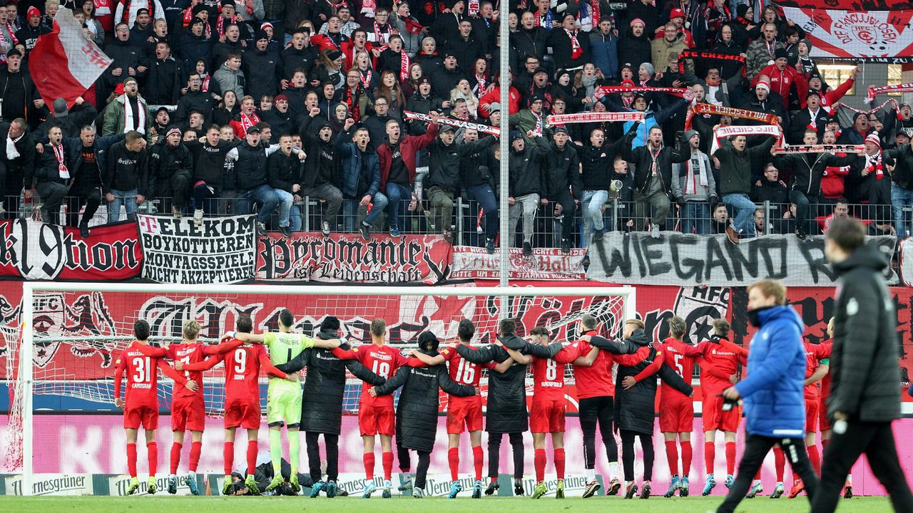 Hallescher FC - Bildquelle: 2019 Getty Images