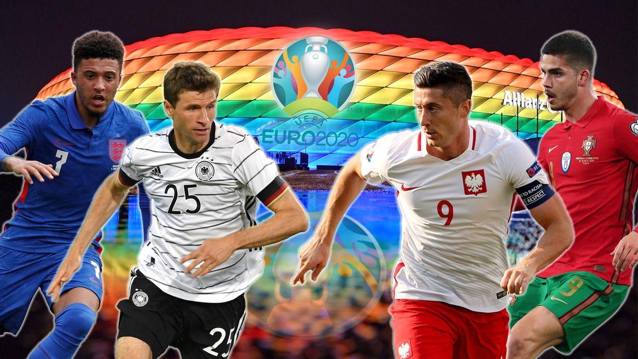 EM 2021: So viele Spieler stellen die deutschen Profi-Klubs ab