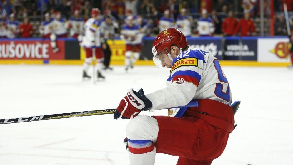 Jewgeni Kusnezow wurde wegen Kokainkonsums gesperrt - Bildquelle: AFPSIDINA FASSBENDER