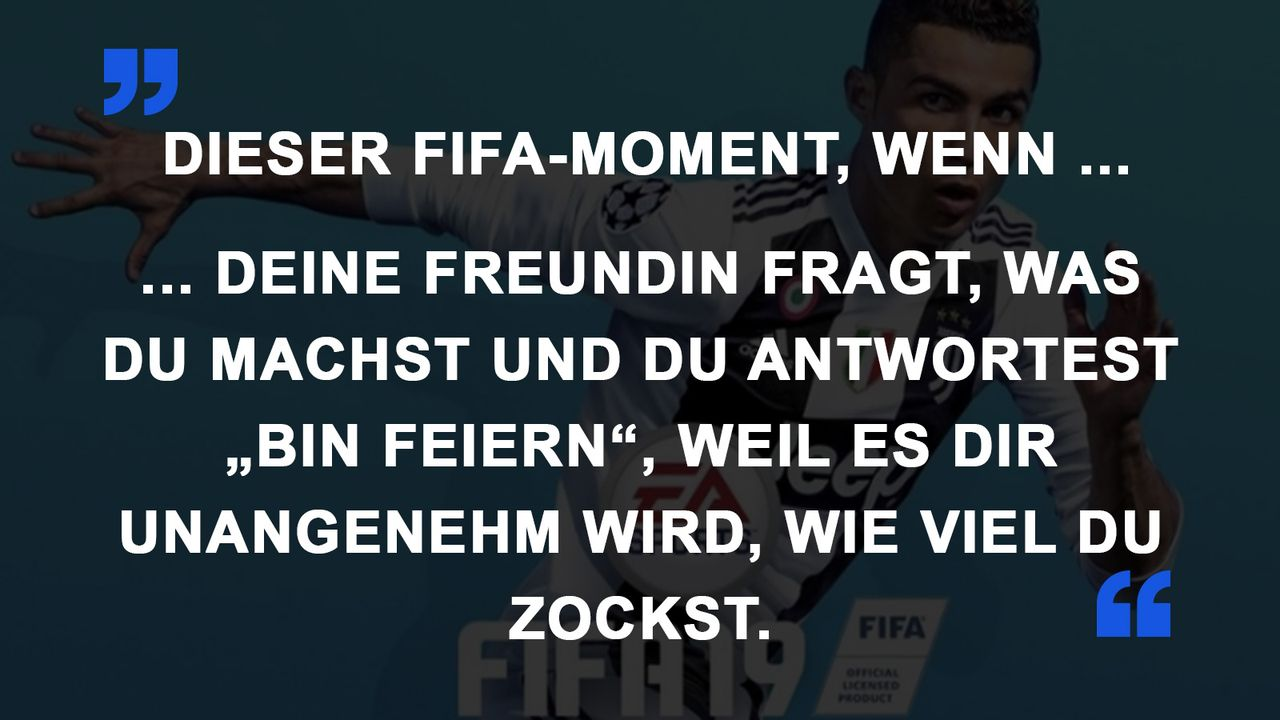 FIFA Momente Freundin