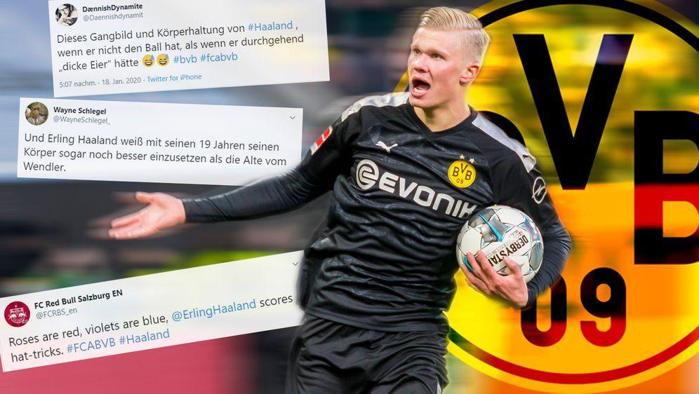Das Netz feiert BVB-Juwel Erling Haaland - Bildquelle: imago