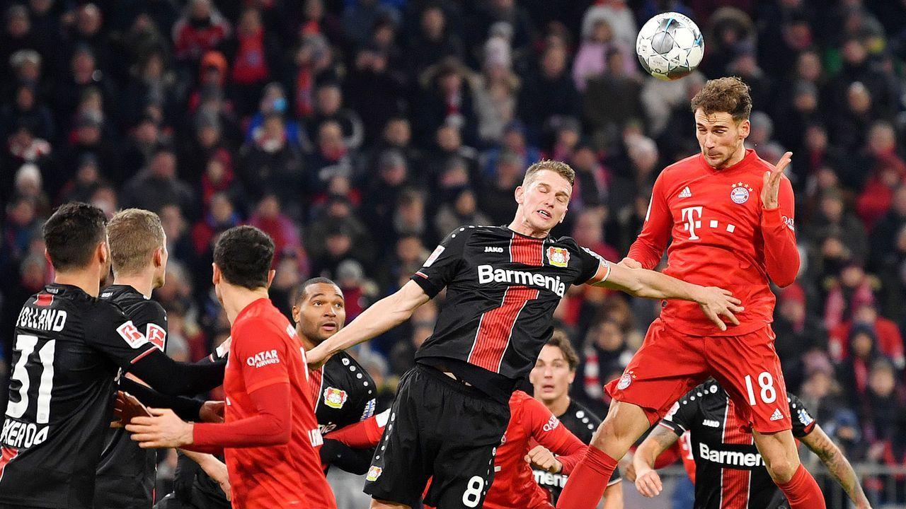 Bayer Leverkusen (56 Punkte, +18 Tore) - FC Bayern München (67 Punkte, +58 Tore) - Bildquelle: Getty Images