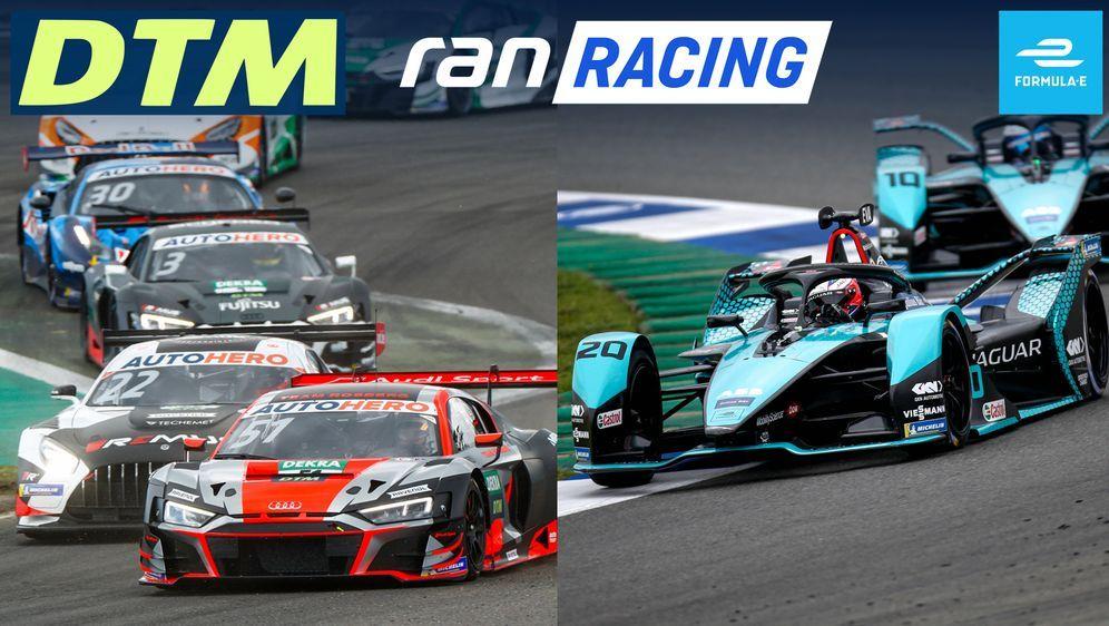 Das große ran racing-Wochenende mit DTM und Formel E live in SAT.1 und auf r... - Bildquelle: Getty / imago