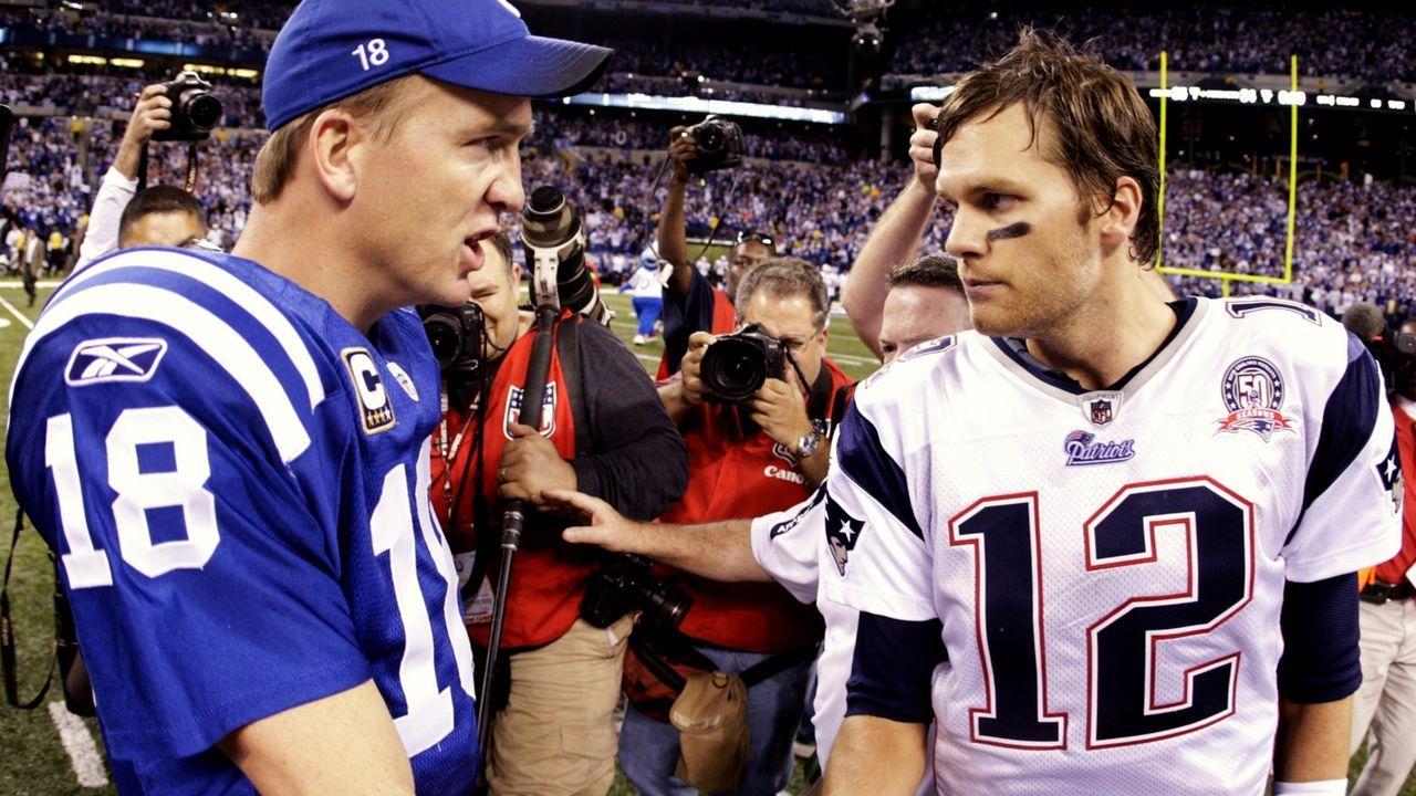 2009: Last-Minute-Sieg von Manning über Brady - Bildquelle: 2009 Getty Images