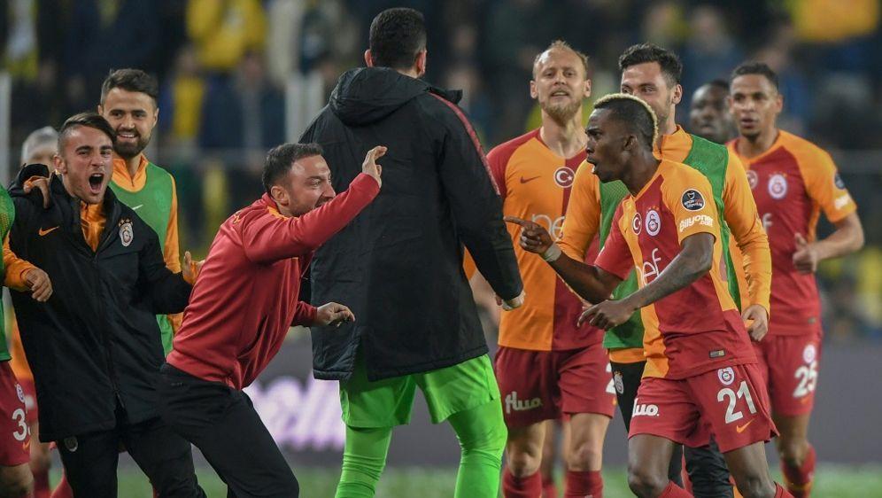 Galatasaray Istanbul gewinnt den türkischen Pokal - Bildquelle: AFPSIDOZAN KOSE