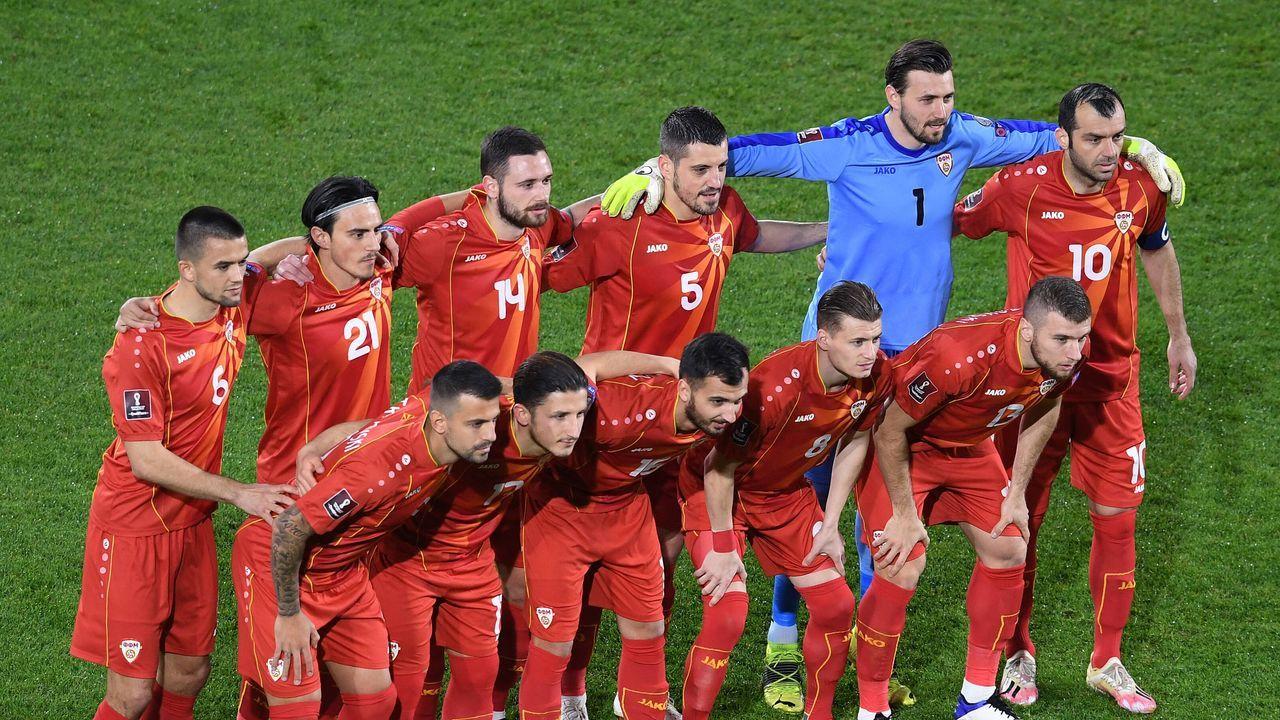 Gruppe C: Nordmazedonien - Bildquelle: imago images/ULMER Pressebildagentur