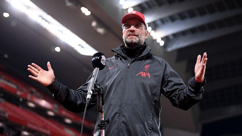 Liverpool-Trainer Jürgen Klopp - Bildquelle: Getty