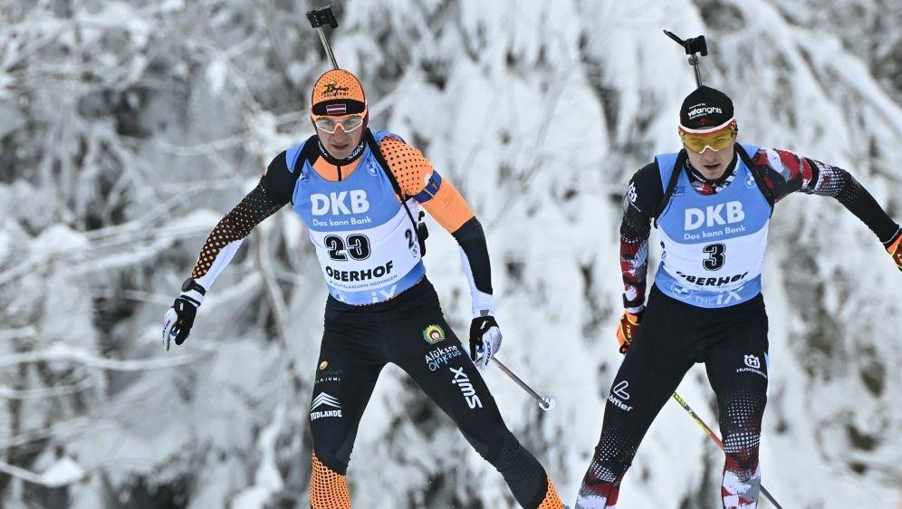 Andrejs Rastorgujevs (links) für Olympia gesperrt - Bildquelle: AFPSIDTOBIAS SCHWARZ