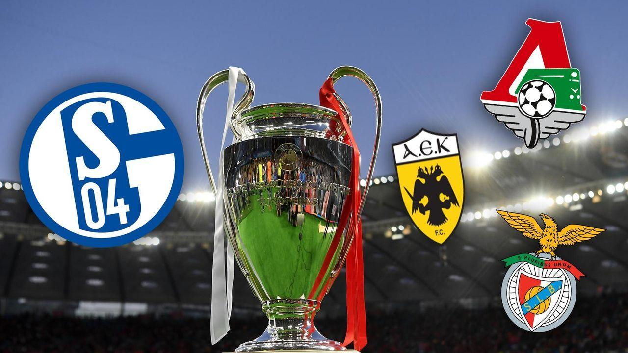FC Schalke 04: Mögliche leichte Gruppe - Bildquelle: getty