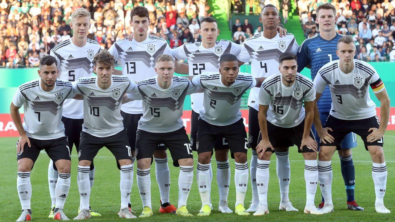 Der Landerspiel Kader Der U21 Nationalmannschaft