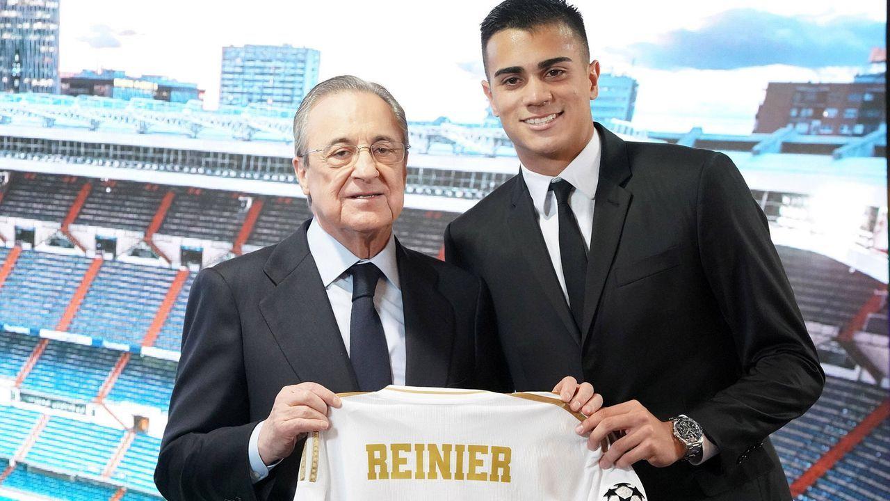 Platz 9: Reinier (18 Jahre/30 Millionen Euro) - Bildquelle: imago images/Alterphotos
