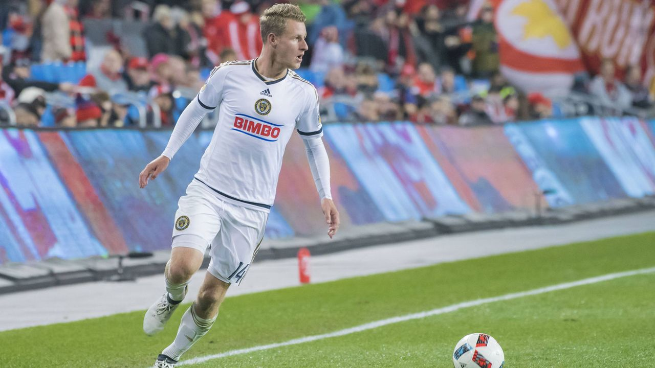 Platz 22: Fabian Herbers (Chicago Fire/Fußball) - Bildquelle: imago