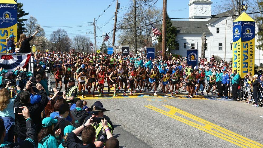 Der Boston-Marathon wurde erstmals abgesagt - Bildquelle: AFPGETTY SIDTim Bradbury