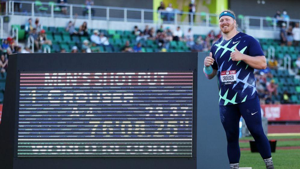 Möglicher Regelverstoß bei Kugelstoß-Weltrekord - Bildquelle: AFPGETTY SIDPATRICK SMITH