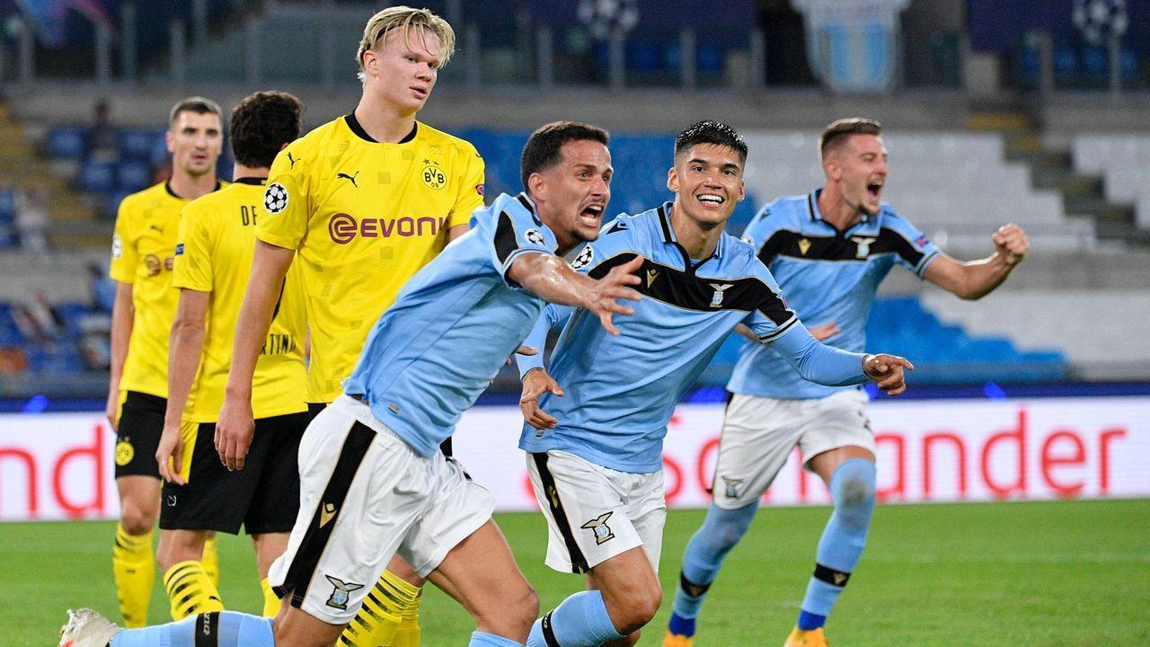 Dortmund verliert zum Champions-League-Auftakt bei Lazio Rom