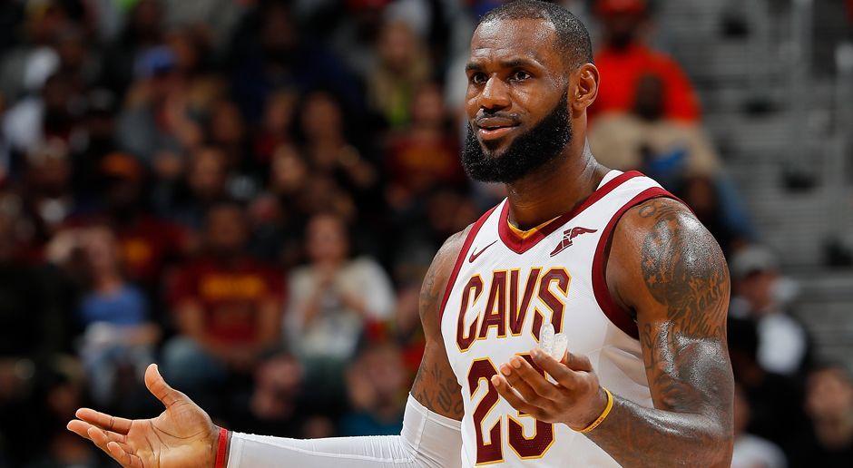 Platz 10: LeBron James - Bildquelle: 2017 Getty Images