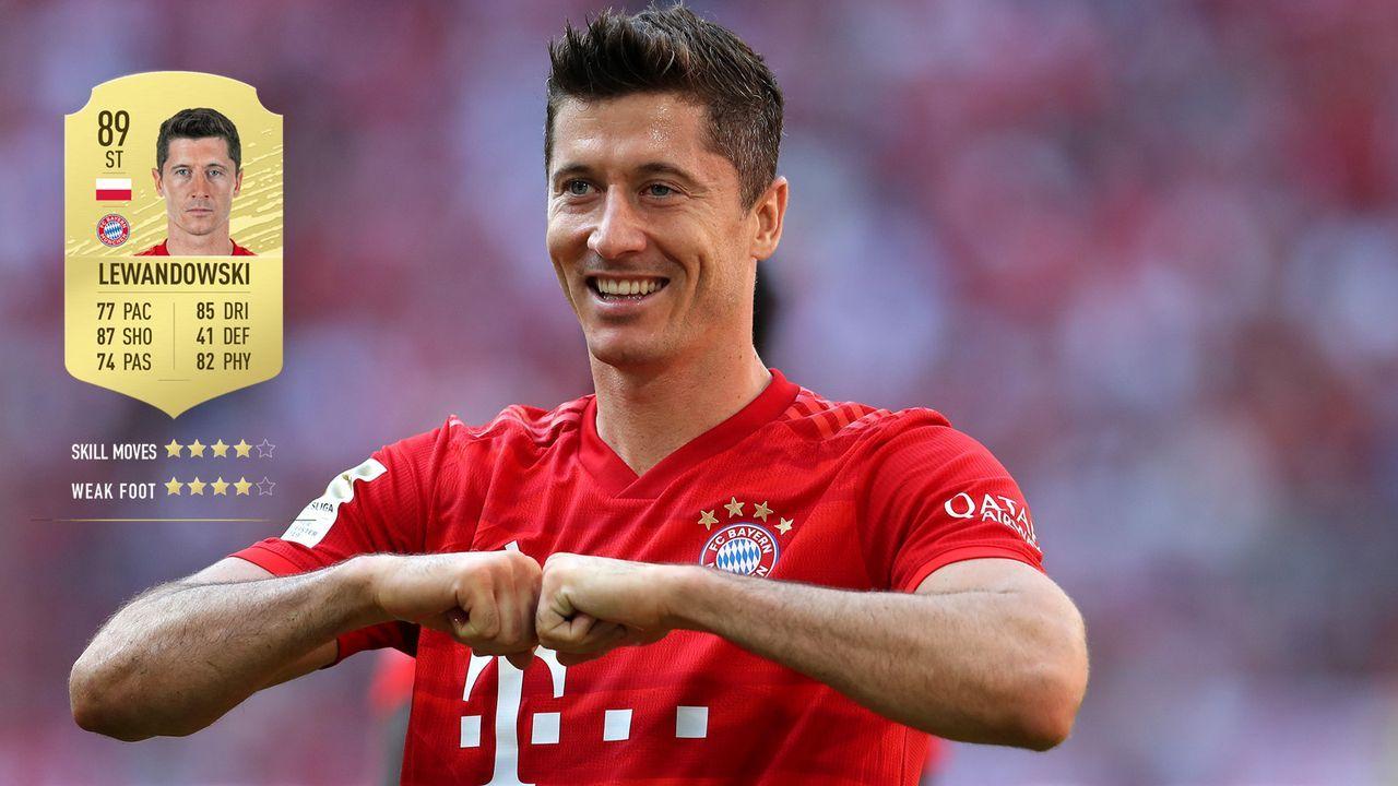 11. Robert Lewandowski (FC Bayern München)  - Bildquelle: 2019 Getty Images