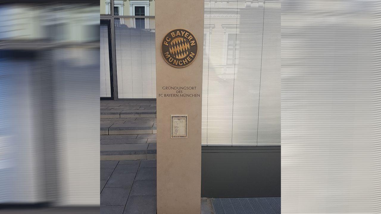 Gründungsort des FC Bayern - Bildquelle: twitter@munich_trouble