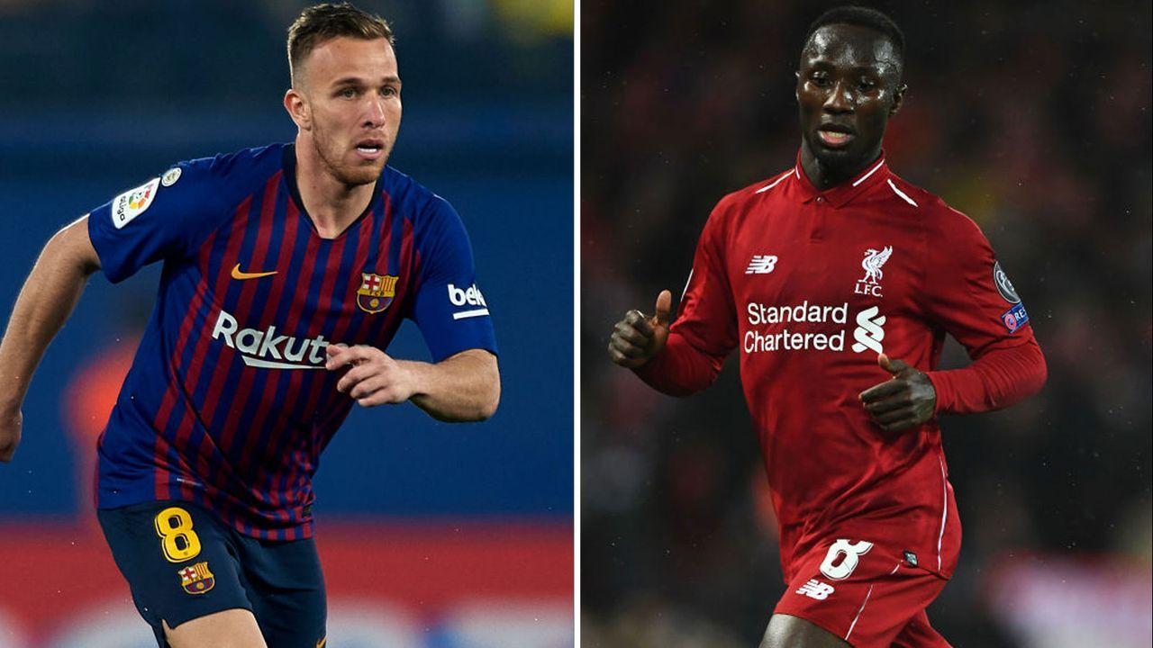 Linker zentraler Mittelfeldspieler: Arthur vs. Naby Keita - Bildquelle: Getty Images