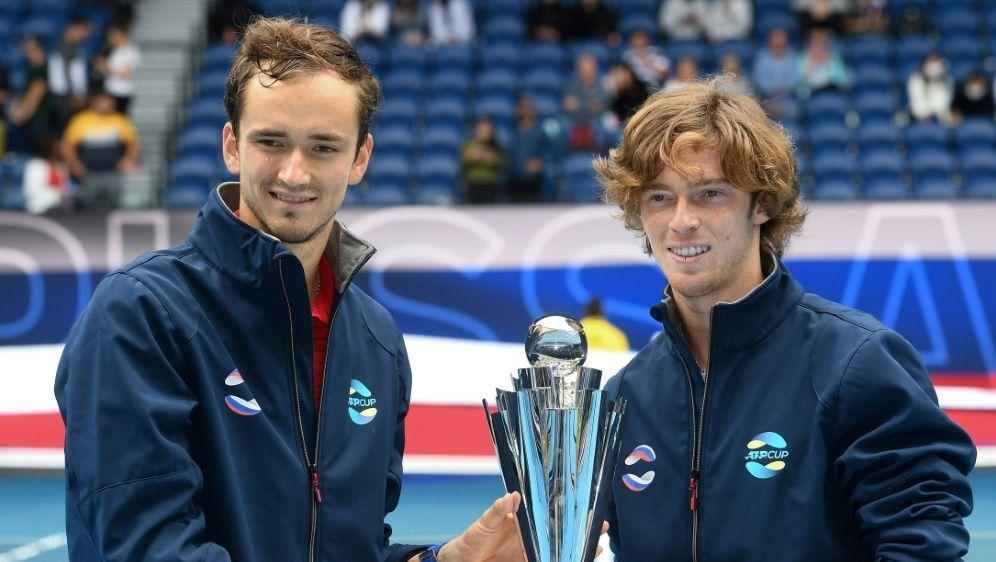 Der ATP-Cup ging an Russland - Bildquelle: AFPSIDWilliam WEST