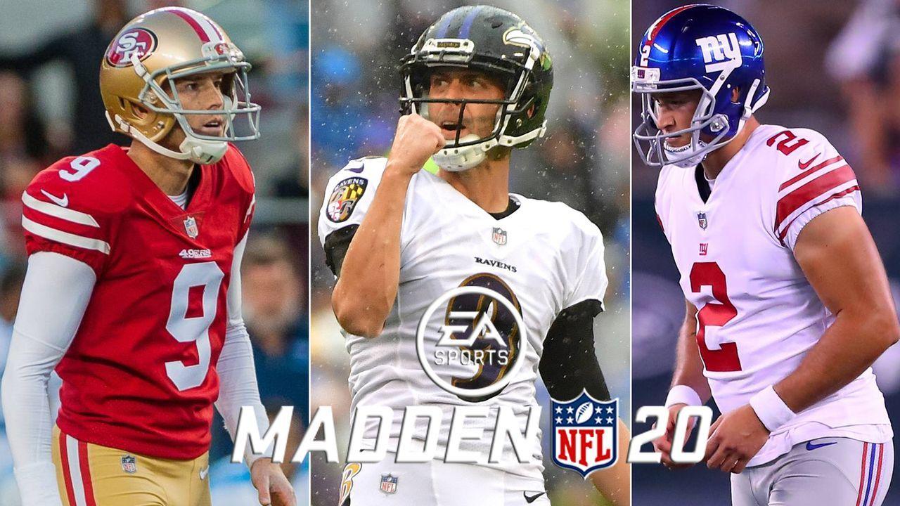 Madden NFL 20: Die Top 10 der Kicker - Bildquelle: imago/Icon SMI