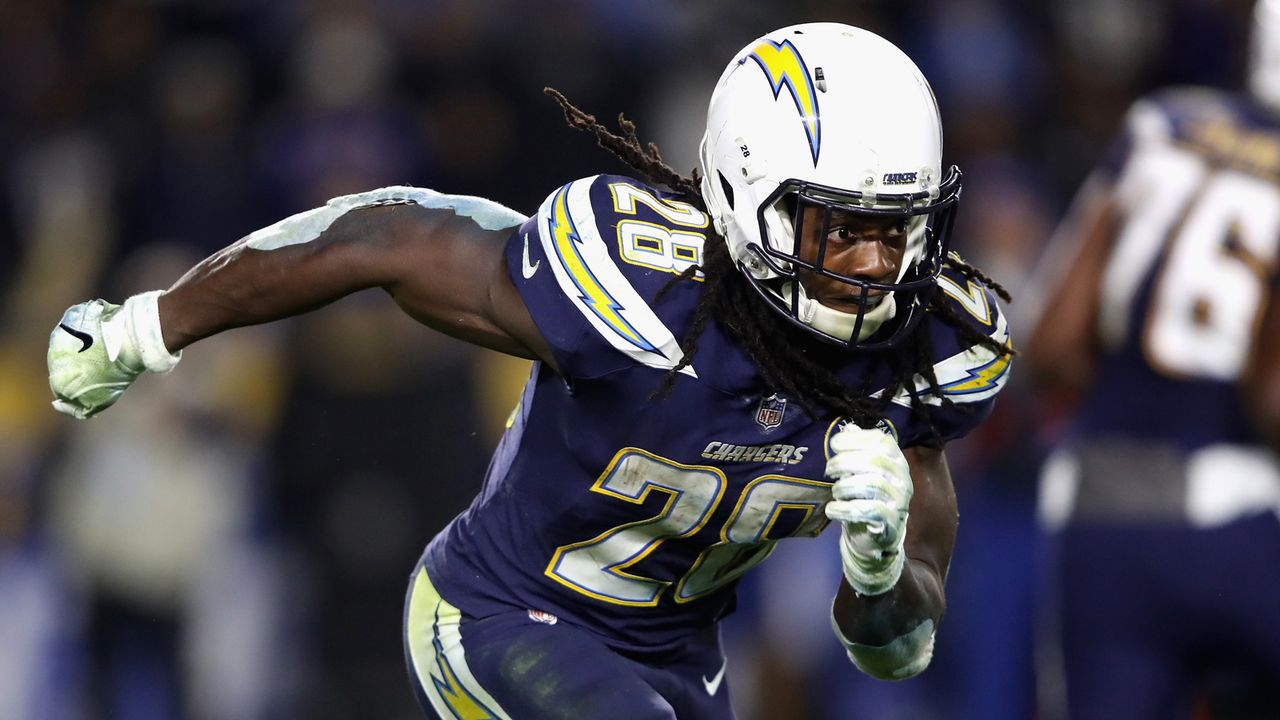 Melvin Gordon (Running Back, Los Angeles Chargers) - Bildquelle: 2018 Getty Images