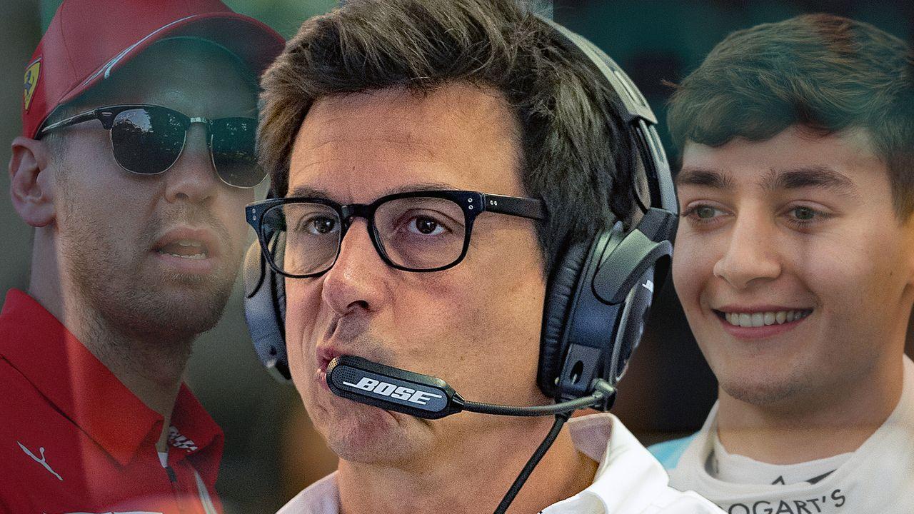 Toto Wolff über Sebastian Vettel - Bildquelle: getty