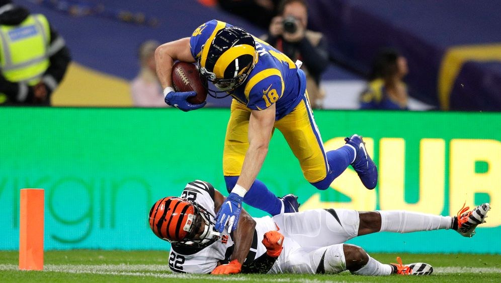 Cooper Kupp von den Los Angeles Rams war im London Game gegen die Cincinnati... - Bildquelle: imago images/Action Plus
