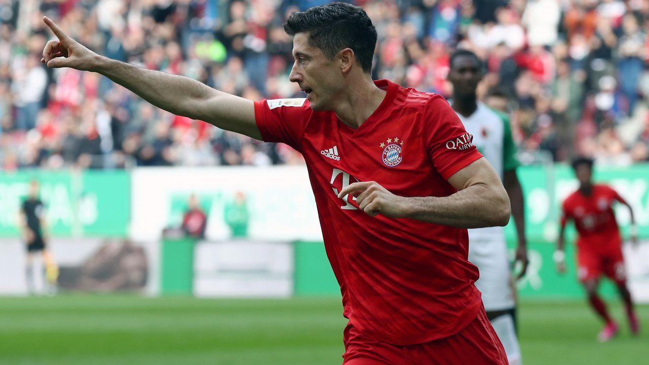 Torserie geht weiter: Robert Lewandowski stellt Bundesliga-Rekord ein - Bildquelle: 2019 Getty Images