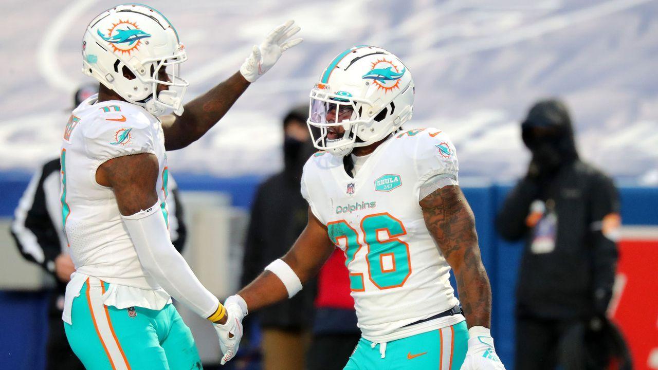 Miami Dolphins (10-6 zum Zeitpunkt des Ausscheidens) - Bildquelle: Getty Images