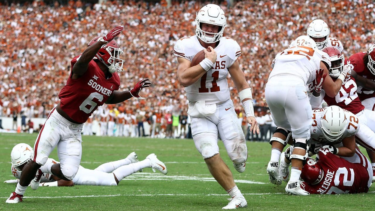 Oklahoma Sooners - Texas Longhorns - Bildquelle: 2018 Getty Images