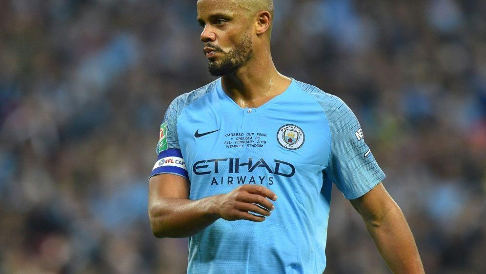 Verlässt Manchester City: Vincent Kompany - Bildquelle: AFPSIDGraham Hunt