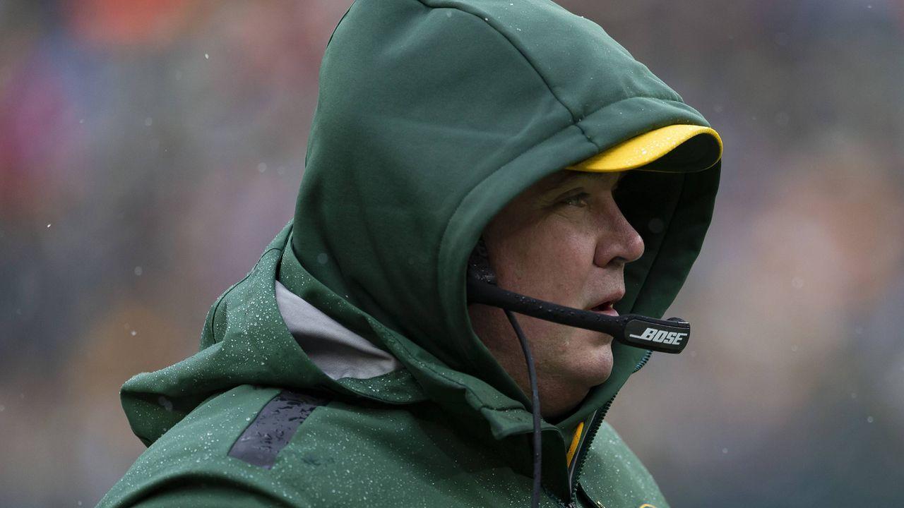 Verlierer: Mike McCarthy und die Green Bay Packers - Bildquelle: imago/ZUMA Press
