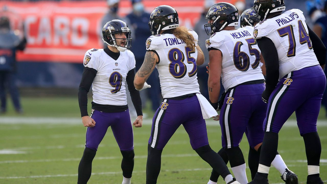 Platz 18 (geteilt): Baltimore Ravens - Bildquelle: 2021 Getty Images