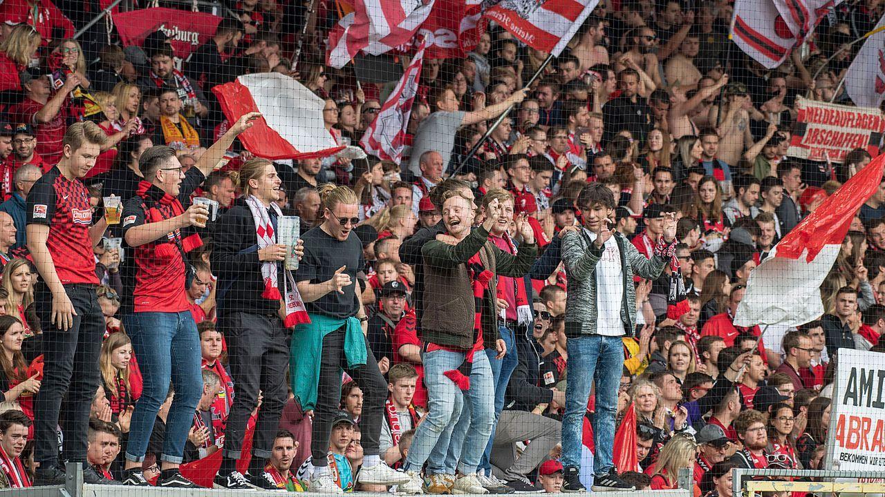 Platz 2: SC Freiburg (Schwarzwald-Stadion) - Bildquelle: 2019 Getty Images