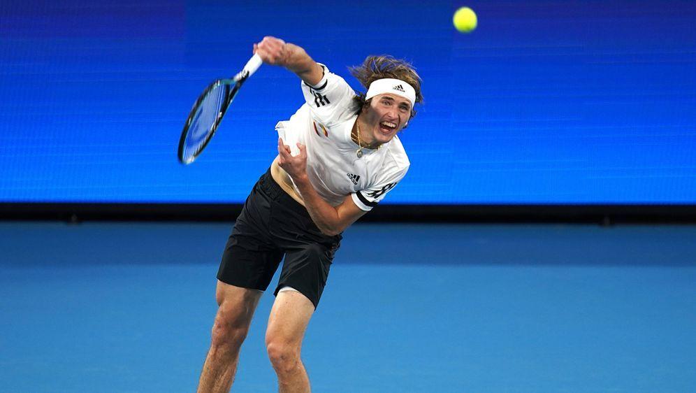 Auch Alexander Zverev hat sein Auftaktmatch in Australien verloren. - Bildquelle: imago
