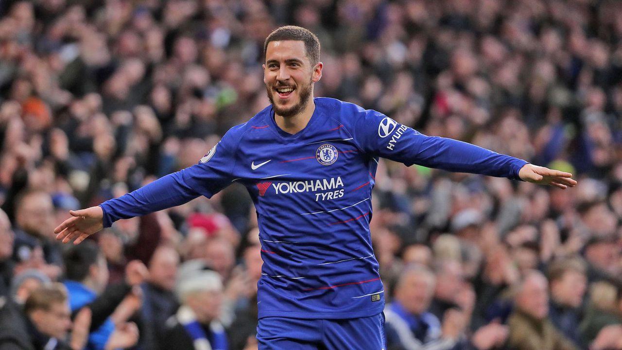 Platz 8: Eden Hazard - Bildquelle: Getty Images