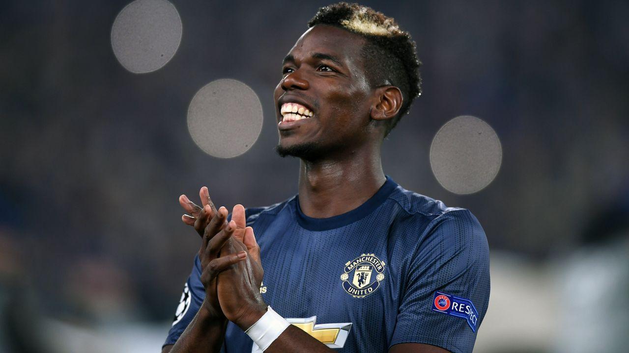 Platz 3 - Paul Pogba (Manchester United) - Bildquelle: 2018 Getty Images