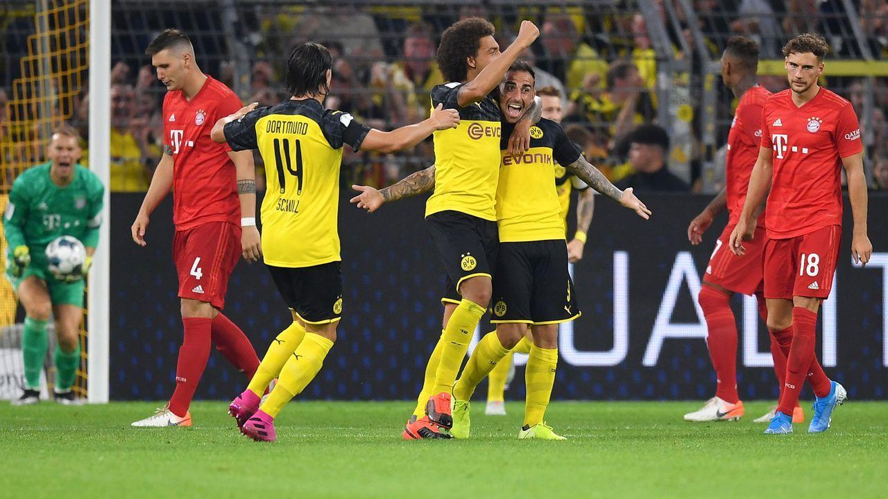 Supercup BVB vs. FC Bayern: Die Teams in der Einzelkritik - Bildquelle: Getty Images